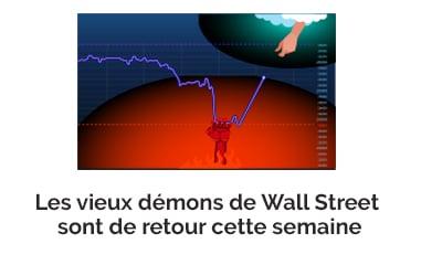 Les vieux démons de Wall Street sont de retour cette semaine