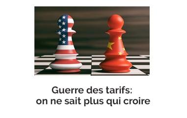 Guerre des tarifs : on ne sait plus qui croire