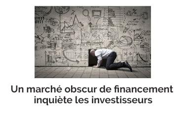 Un marché obscur de financement inquiète les investisseurs