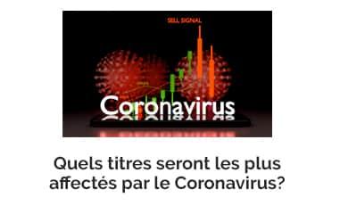 Quels titres seront les plus affectés par le Coronavirus?