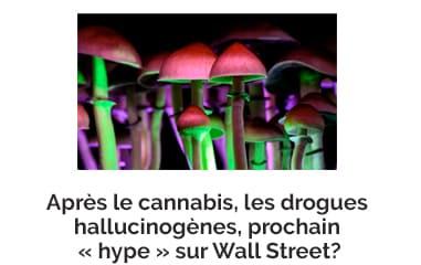 Après le cannabis, les drogues hallucinogènes, prochain « hype » sur Wall Street?