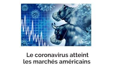 Le coronavirus atteint les marchés américains