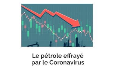 Le pétrole effrayé par le Coronavirus