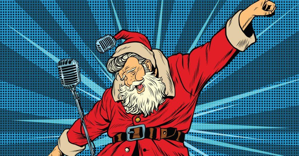 Phénomène intéressant en décembre : le rallye du père Noël